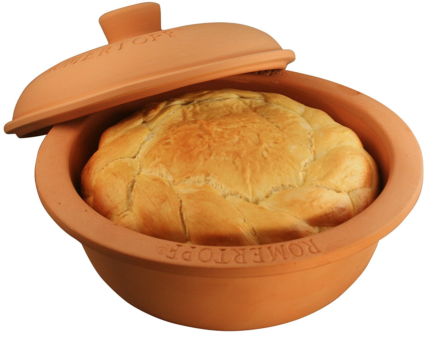 Clay Bread Baking Pot