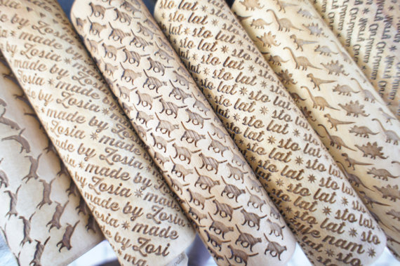 Engraved Rolling Pins